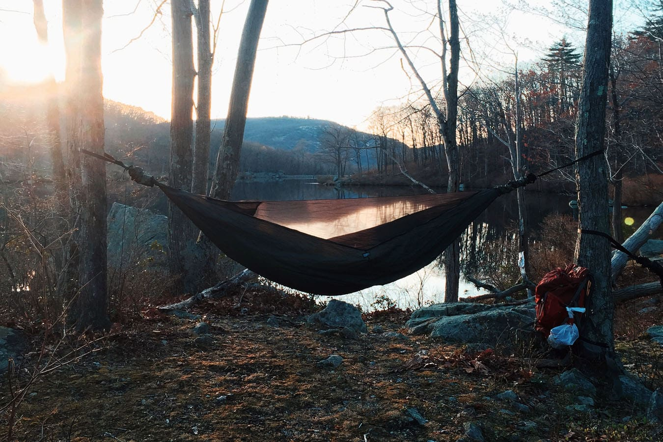 How To Hammock Camp In The Winter