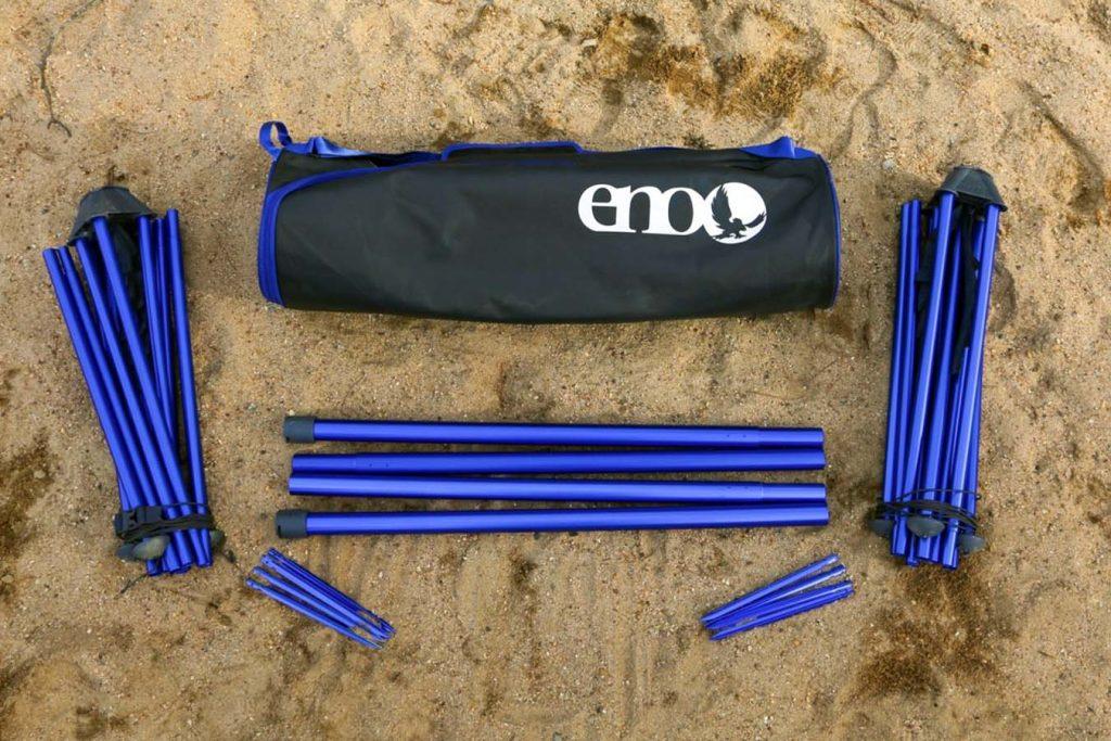 Portable hammock stand