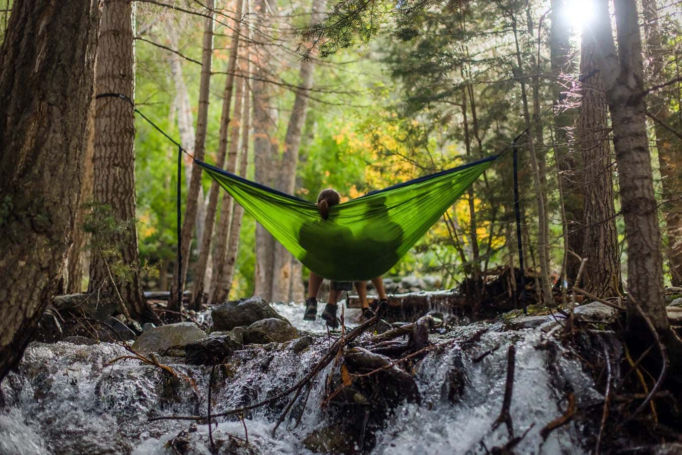 Hammock Camping for Two and as a couple
